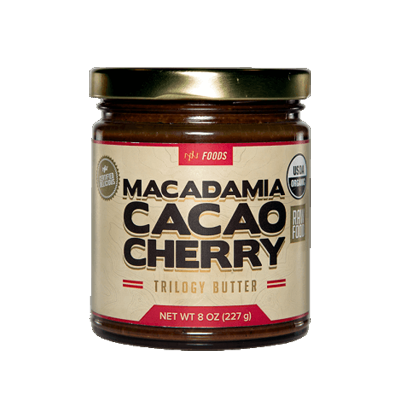 Macadamia Cacao Cherry Trilogy Butter